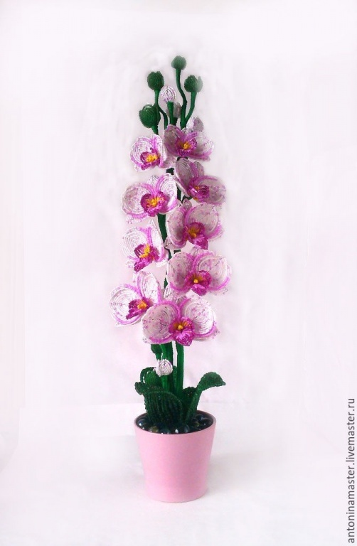 Only Valentine's Day price reduced Flowers Beaded Orchid Azure.jpg